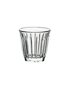 La Rochère Zinc espressoglas met ribbel 100 ml glas