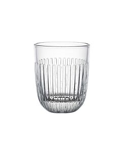 La Rochère Quessant tumbler met ribbel 290 ml glas