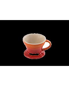 Le Creuset koffiefilter 300 ml aardewerk vulcanique
