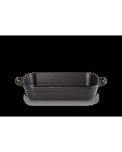 Le Creuset braadslede 29 x 20,5 cm gietijzer mat zwart