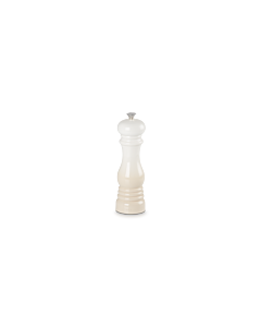 Le Creuset pepermolen 21 cm kunststof meringue