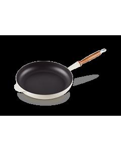Le Creuset koekenpan rond ø 24 cm gietijzer Meringue