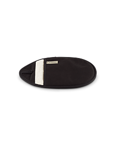 Le Creuset pannenlap 31 x 21 cm textiel zwart