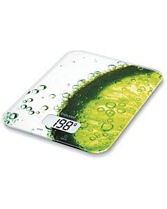 Cristel Fresh digitale keukenweegschaal 5 kg groen
