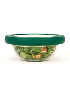 Food Huggers Lids L deksel silicone Gradual Green