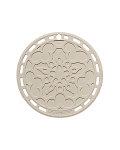 Le Creuset pannenonderzetter ø 20 cm silicone Meringue