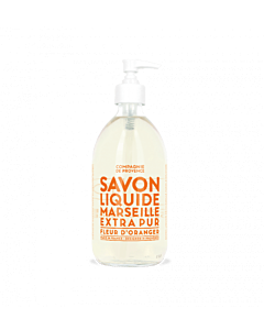 Savon de Marseille Liquid Marseille Orange Blossom handzeep 500 ml glas