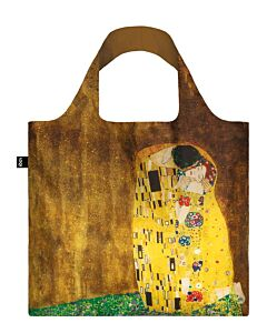 Loqi Museum Collection - Gustav Klimt - The Kiss opvouwbaar tasje polyester