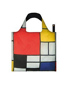 Loqi Museum Collection - Mondriaan opvouwbaar tasje polyester