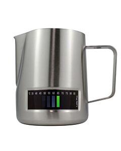 Latte Pro melkkan met temperatuurindicatie 600 ml rvs