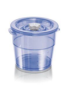 MagicVac Executive vacuümbak 2 liter kunststof blauw