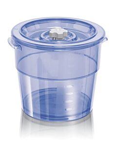MagicVac Executive vacuümbak 4 liter kunststof blauw