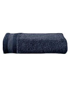 De Witte Lietaer Excellence handdoek 60 x 40 cm katoen marine blue