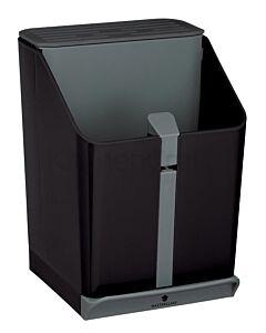 MasterClass messenblok en pollepelpot kunststof zwart