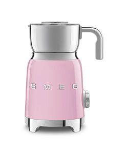 SMEG 50's style elektrische melkopschuimer 600 ml roze
