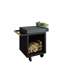 OFYR Mise en Place Table Black 65 PRO donkergrijs keramiek