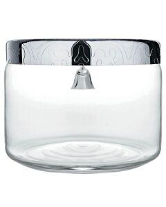Alessi Dressed koektrommel ø 19 cm rvs glas