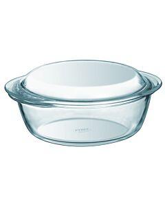 Pyrex ovenschaal met deksel 1,4 liter glas