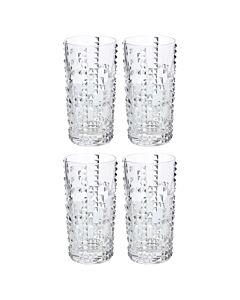 Nachtmann Punk longdrinkglas 390 ml kristalglas 4 stuks