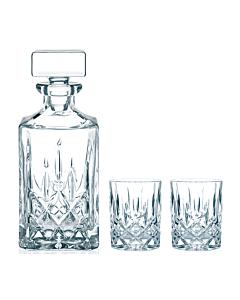 Nachtmann Noblesse whiskyset kristalglas 3-delig