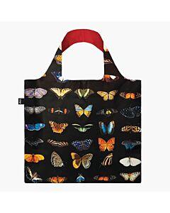 Loqi National Geographic - Butterflies & Moths opvouwbaar tasje polyester