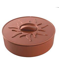 Nordic Ware magnetron Tortillawarmer ø 27 cm kunststof bruin