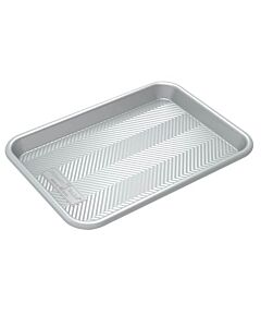 Nordic Ware Prism bakplaat 28,8 x 20,3 cm aluminium grijs