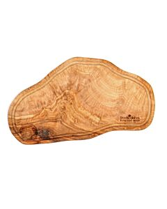 Bowls and Dishes Pure Olive Wood steakplank met opvanggootje 40 t/m 45 cm olijfhout
