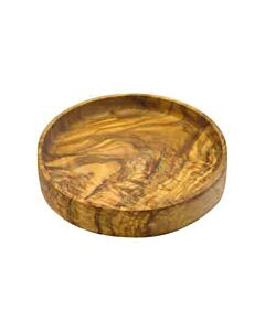 Bowls and Dishes Pure Olive Wood schaal laag recht ø 14 cm olijfhout