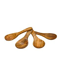 Bowls and Dishes Pure Olive Wood amuselepels 4-delig