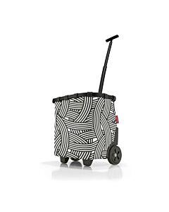 Reisenthel Carrycruiser boodschappentrolley 42 x 32 cm polyester Frame Zebra