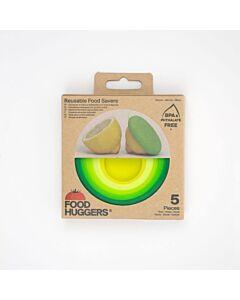 Food Huggers Fresh Greens vorm silicone 5-delig