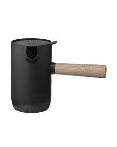 Stelton Collar melkkan 500 ml rvs zwart