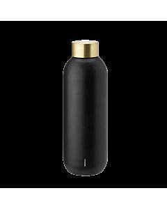Stelton Collar waterfles 750 ml zwart
