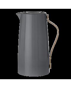Stelton Emma koffie thermoskan 1,2 liter grijs