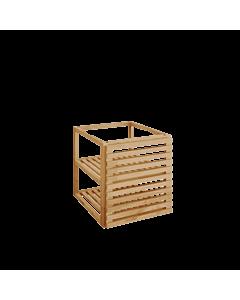 OFYR Storage insert PRO met deurtjes teakhout Small