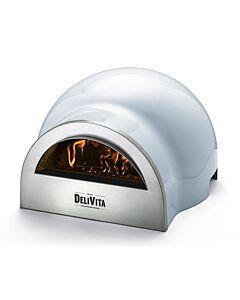 Delivita houtgestookte pizza-oven 65 x 59 x 39 cm Vintage Blue
