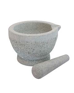 Point-Virgule vijzel 16 x 15 x 10 cm graniet grijs