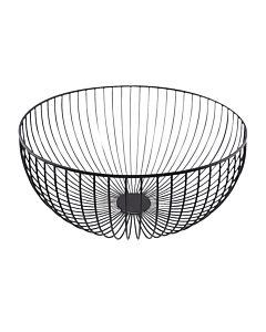 Point-Virgule Wire fruitmand ø 30 cm zwart