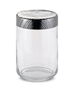 Alessi Veneer voorraadpot 1 liter rvs glas