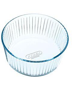 Pyrex soufflévorm ø 21 cm glas