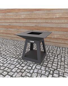 Quan Quadro Air Carbon barbecue 100 x 100 cm carbonstaal