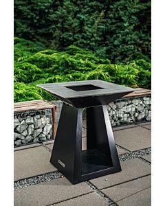 Quan Quadro Basic Medium Carbon barbecue 80 x 80 cm carbonstaal
