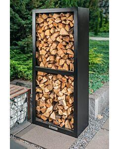 Quan Quadro Basic Carbon Wood Storage 80 x 40 x 180 cm carbonstaal