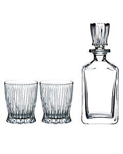 Riedel Fire whiskyset kristalglas 3-delig