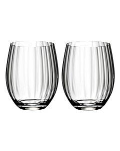 Riedel Optical 'O' longdrinkglas 580 ml kristalglas 2 stuks