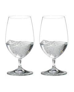 Riedel Vinum Gourmet Glass waterglas 370 ml kristalglas 2 stuks