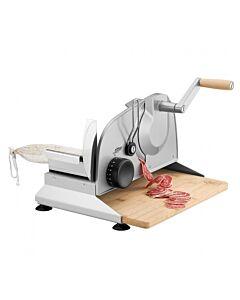 Ritter Piatto 5 handsnijmachine met bamboe plank