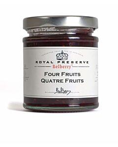 Oldenhof Belberry vier vruchten confiture 215 gram