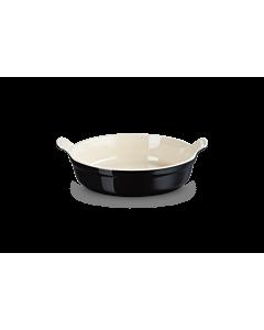 Le Creuset ronde ovenschaal ø 24 cm aardewerk zwart